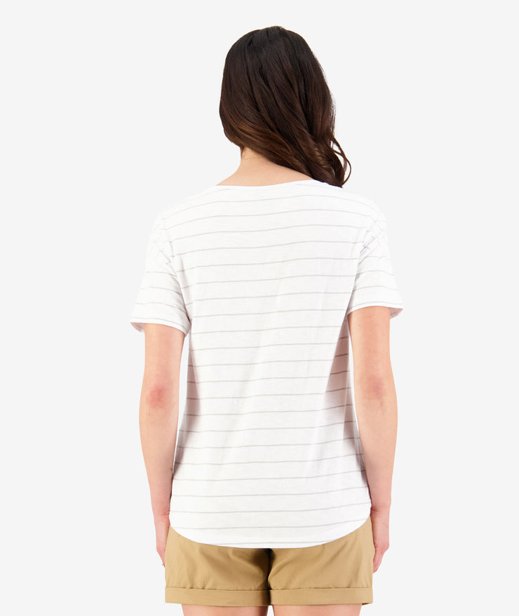 Swanndri Thurso Slub Cotton Pocket Tee