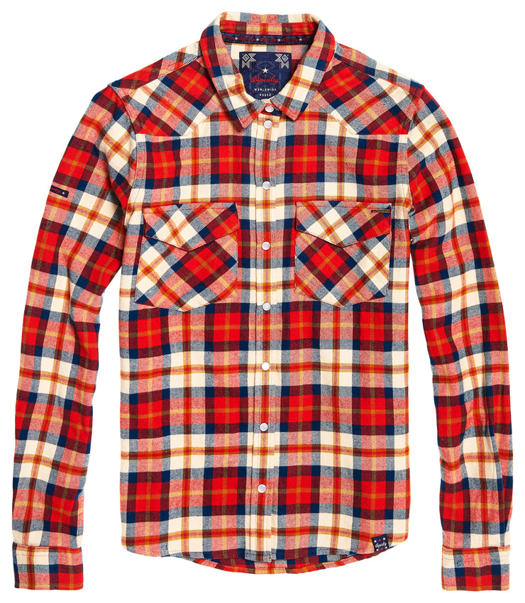 Superdry Western Check Shirt