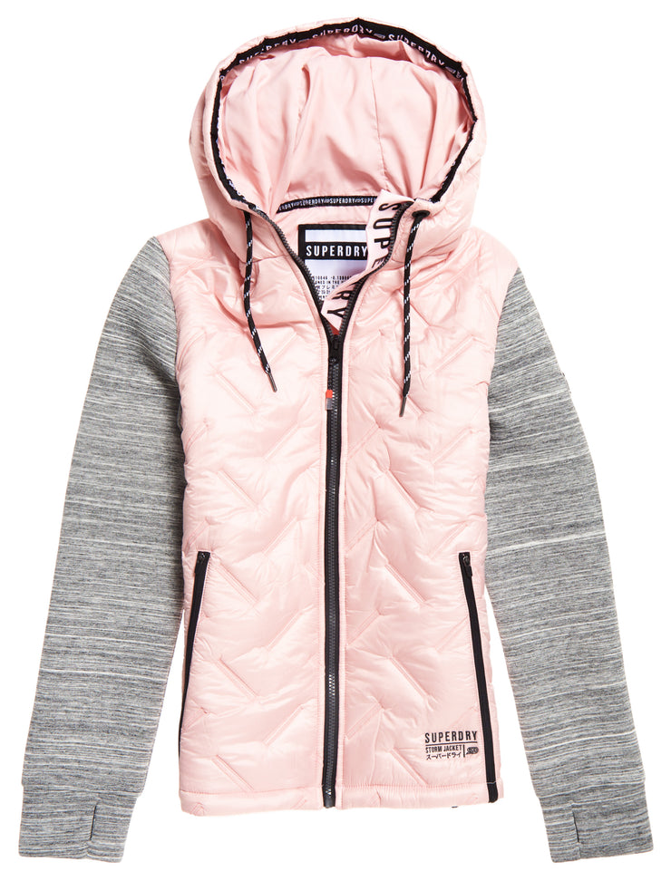 Superdry Storm Injected Luxe Hybrid Jacket
