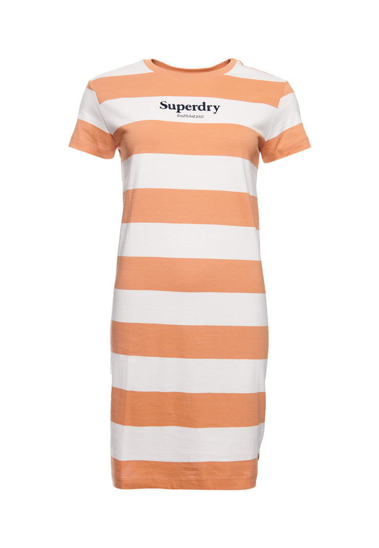 Superdry Darcy Striped T Shirt Dress