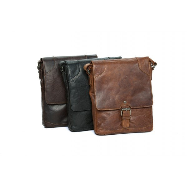 Rugged Hide Colby Leather bag
