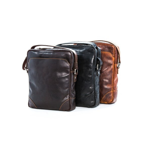 Rugged Hide Conrad Leather Bag