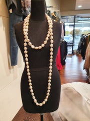 KC Long Pearl Necklace
