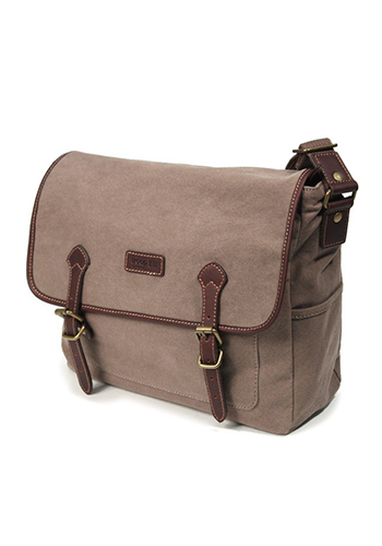 Troop London Satchel - Brown