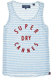 Superdry Coast Stripe Grapic Vest