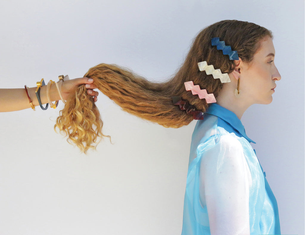 Metalepsis NeoNeo hair accessories and jewelry