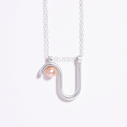 Arco necklace- Silver