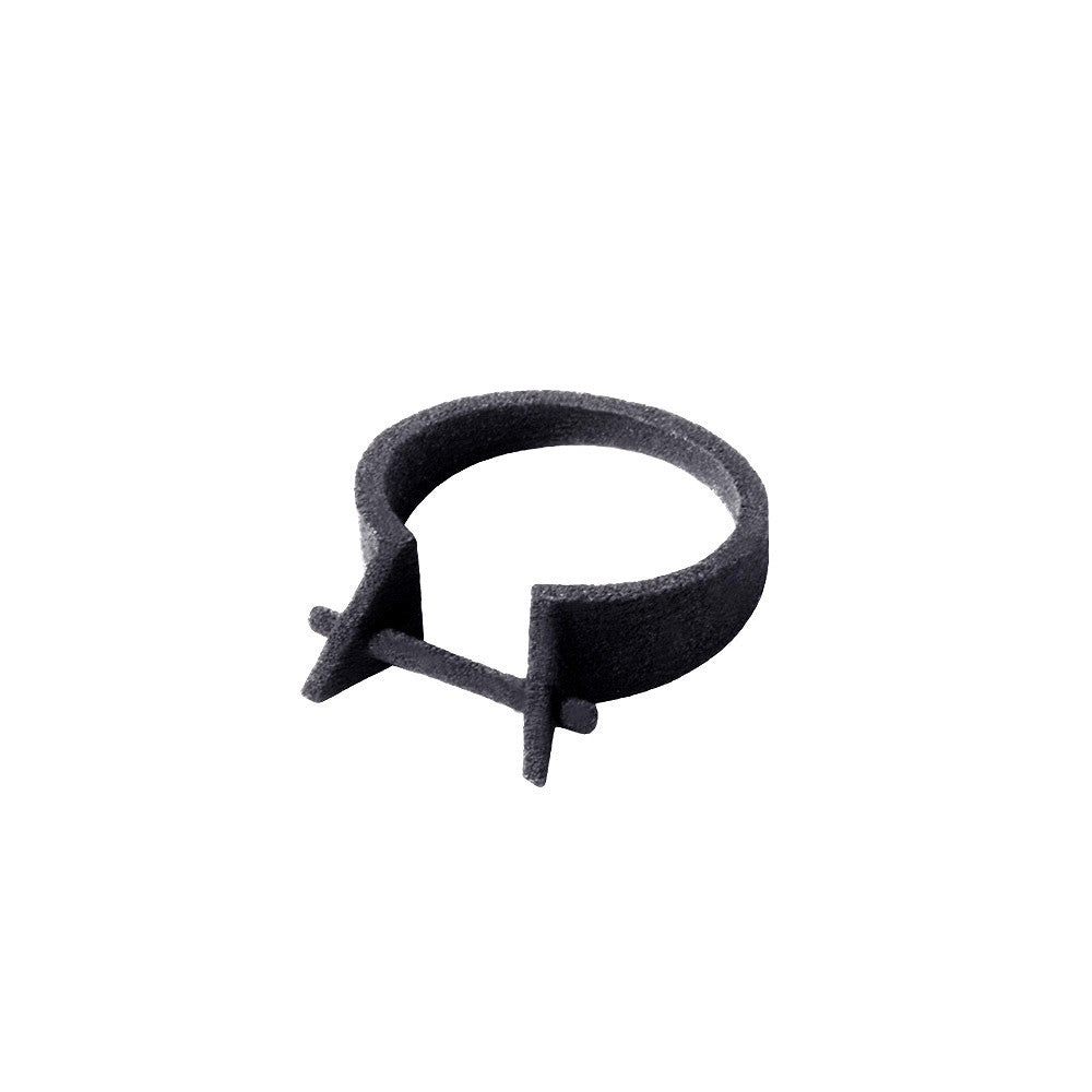Metalepsis X Chromat Bar Ring black nylon