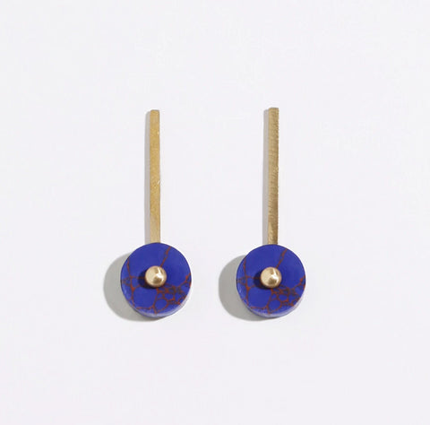 Metalepsis Disc Earrings
