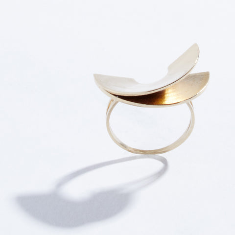 Lygia Ring - Brass