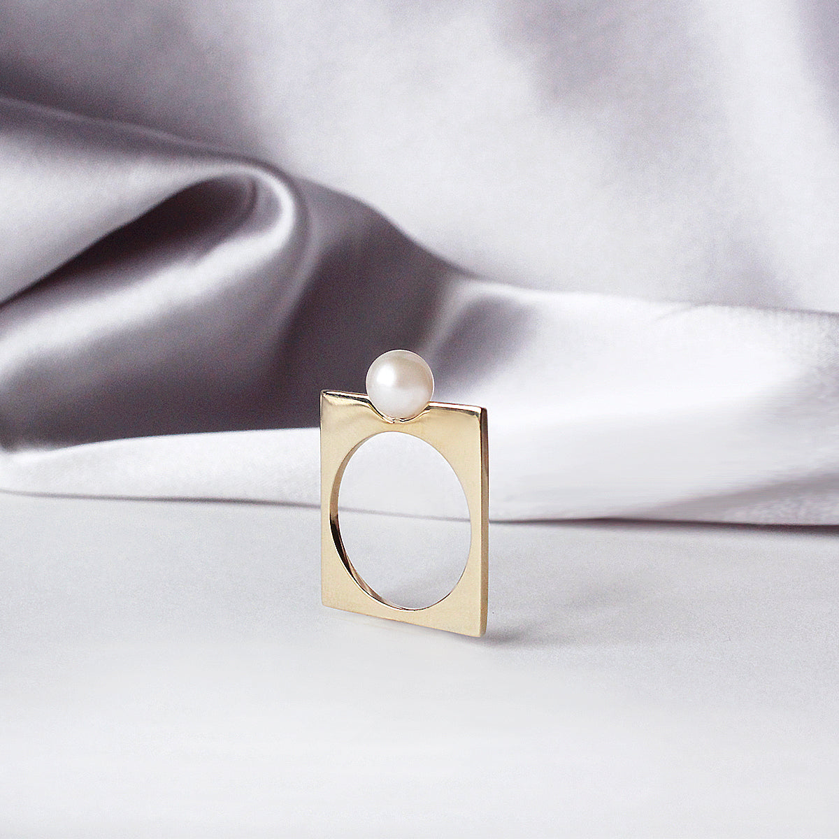 Renata Ring- 14k yellow gold-plated