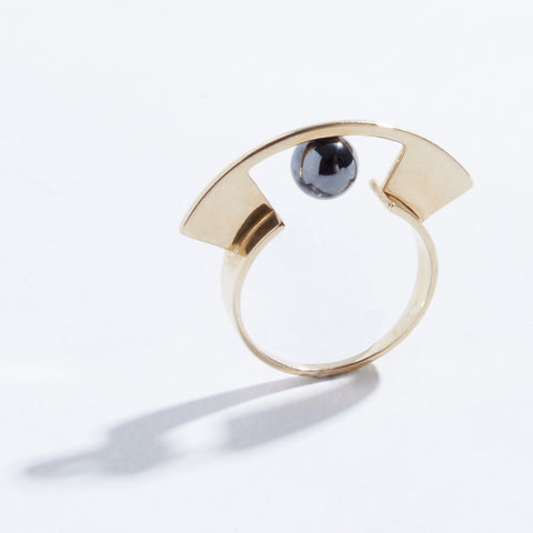 Metalepsis Yuyu Ring - brass