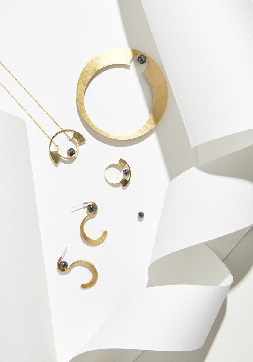Metalepsis Yuyu Jewelry - brass