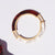 Metalepsis NeoNeo bangle Helio two tone tortoise pearlescent
