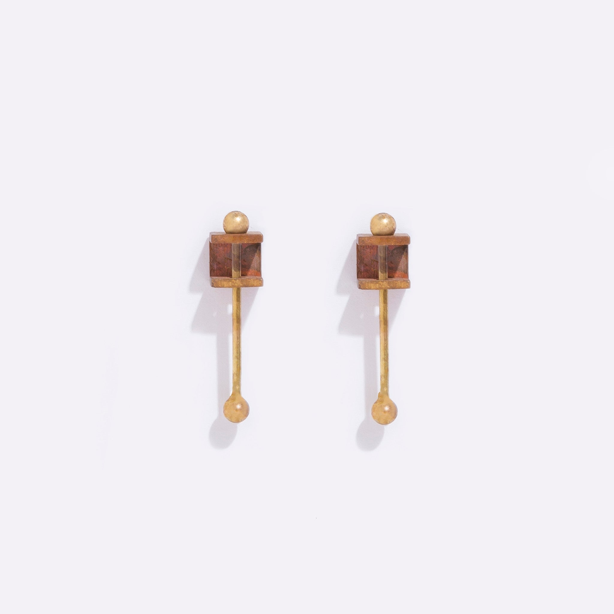 Metalepsis Projects Bar Box Earring