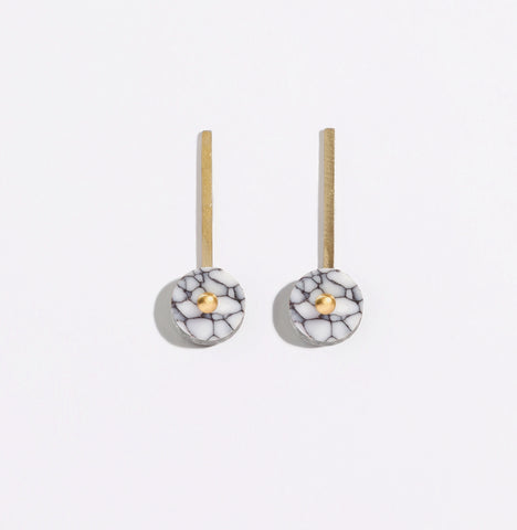 Metalepsis Disc Earring