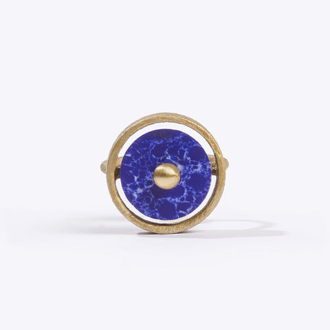 Disc Ring Blue