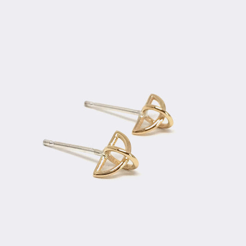Float Earring 14kt Gold