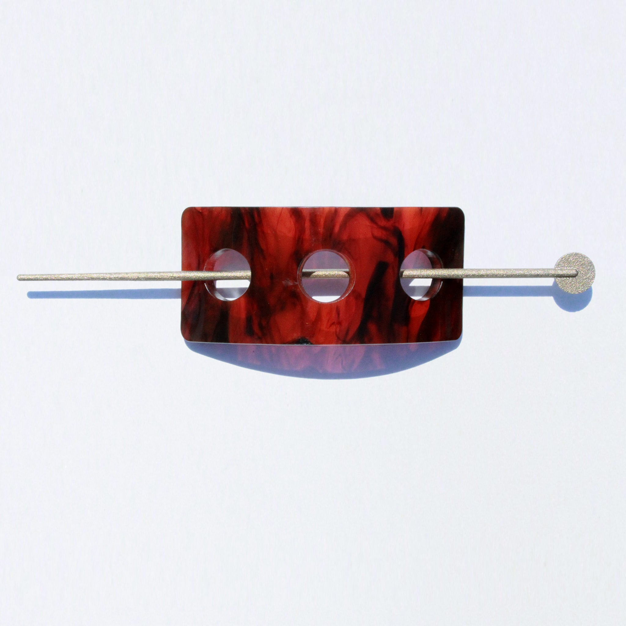 Metalepsis NeoNeo Barrette Hairpin three dot tortoise