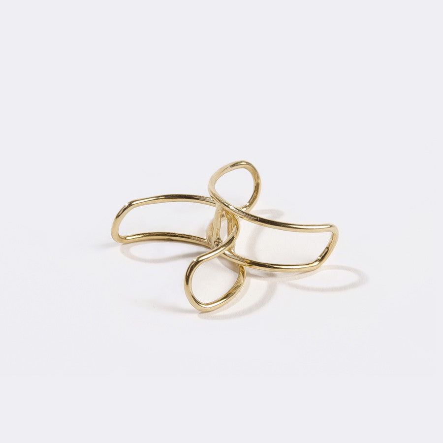 Metalepsis Interlocking Ring