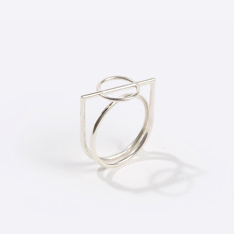 Mobius Ring in Sterling Silver