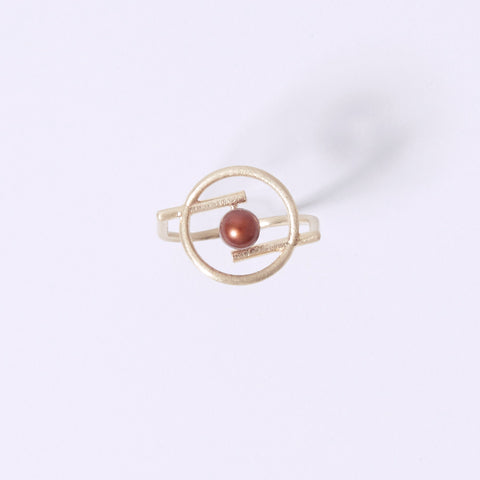 Volten Ring- Pearl