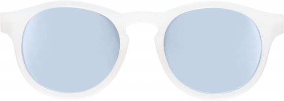 Polarized Blue Series The Jet Setter Transparent Keyhole with Blue Mirrored Lenses