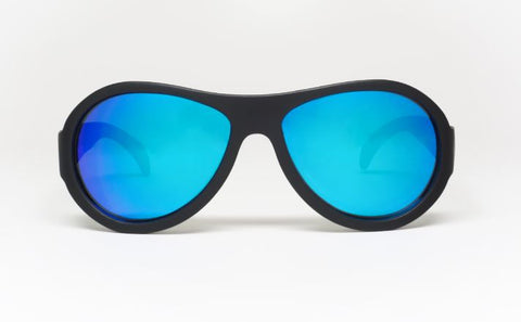 Aces Black Ops Black Blue Lenses (Ages 7-14)