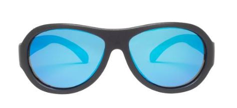 Polarized Black Ops Black (Cool Blue Lenses)