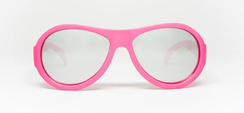 Aces Popstar Pink Mirrored Lenses  (Ages 7-14)