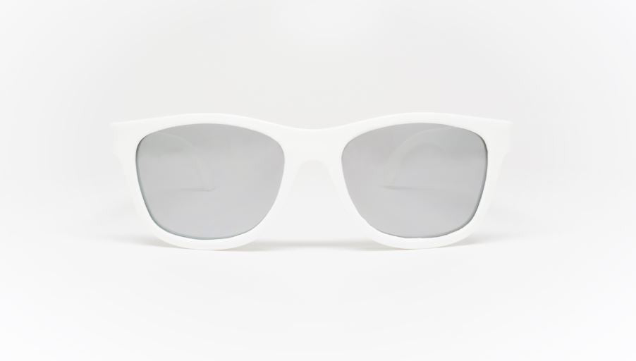 ACES NAVIGATOR Wicked White Mirrored Lenses (AGES 7-14)