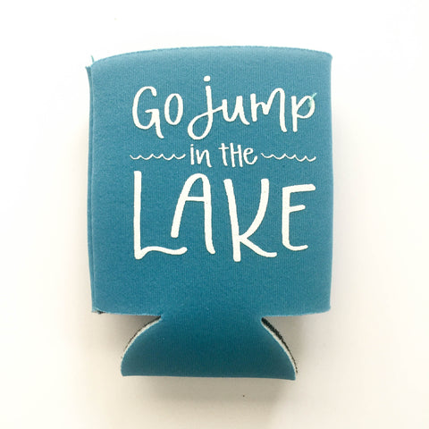 Go Jump in the Lake / Neon Blue