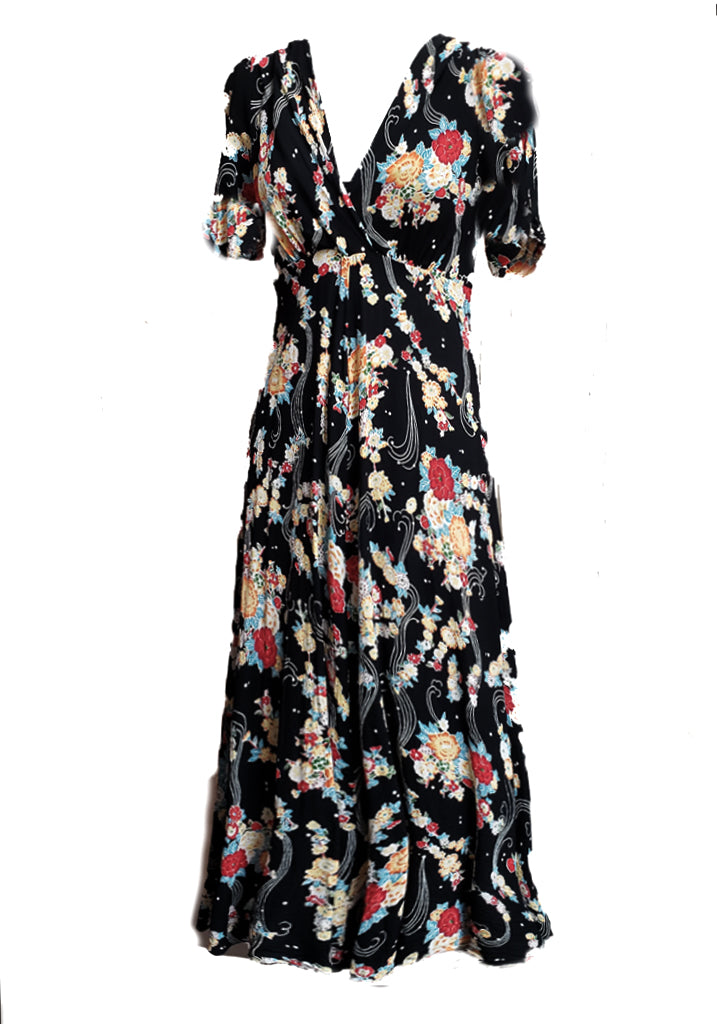 Stanwyck Dress- Asian Floral
