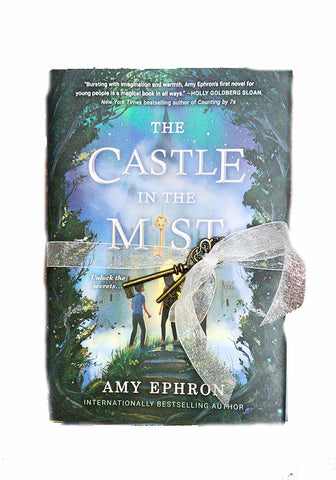Amy Ephron Signed Books-Castle in the Mist and Carnival Magic-With Special Keys!