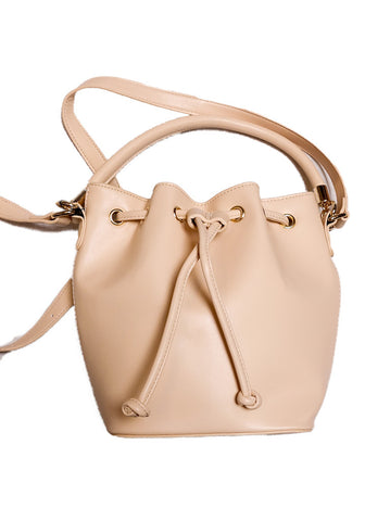 Vegan Bucket Bag - Blush