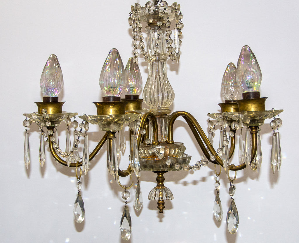 Gracious Glass Chandelier