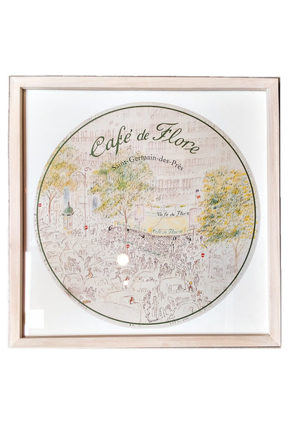 Cafe de Flore - Framed Print