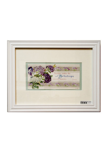 Vintage French Soap Labels - Framed