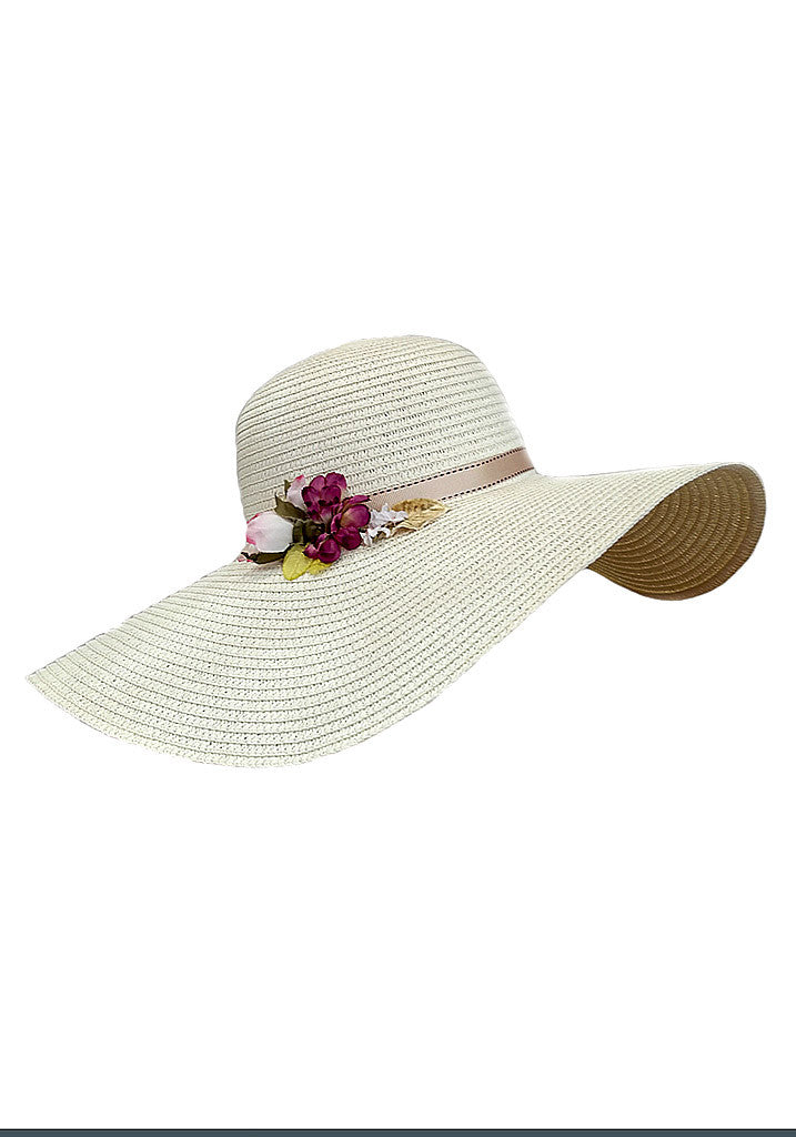 Limited Edition Garden Party hat-Ivory