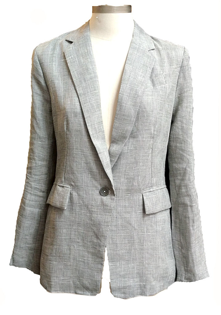 Linen Summer Tweed  Blazer
