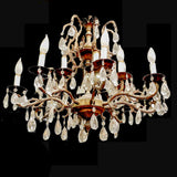 Large, majestic French style chandelier