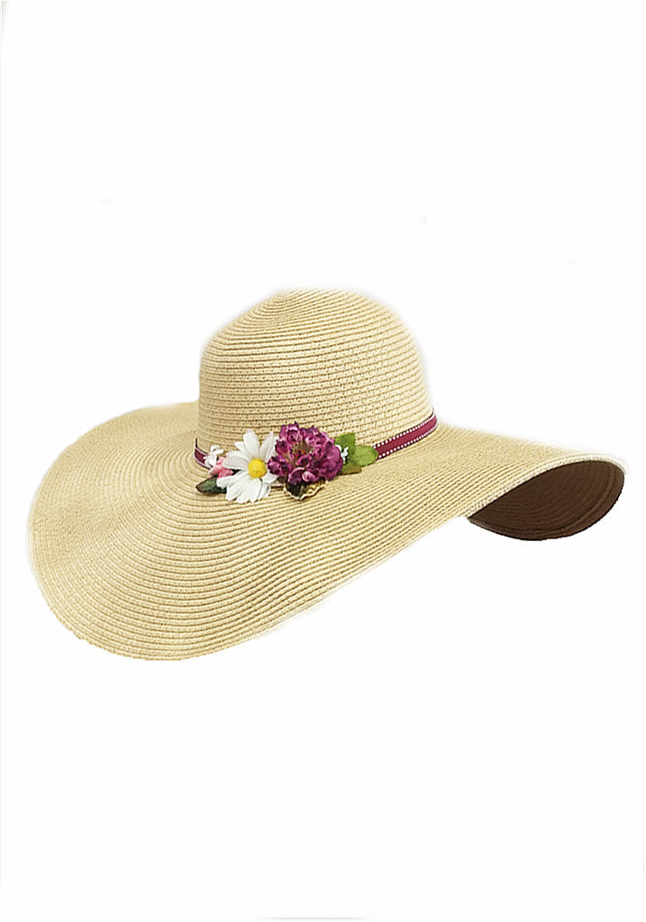 Limited Edition Garden Party Hat-Natural
