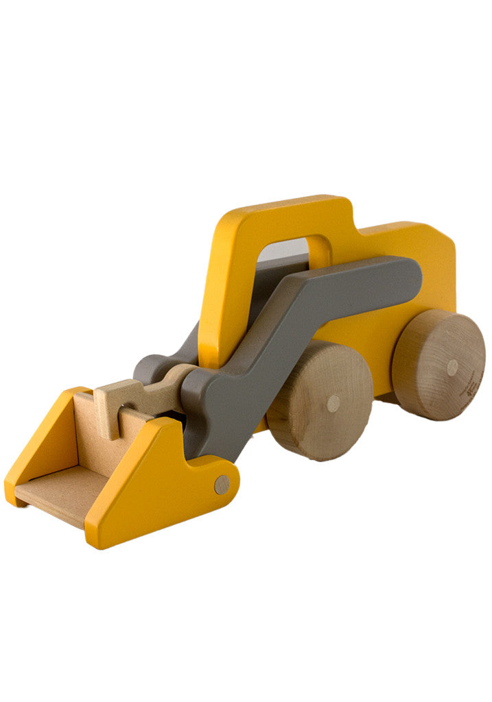 Wooden Scoop Loader