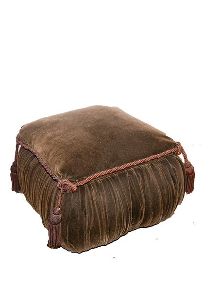 Timeless Chateau Library Pouf