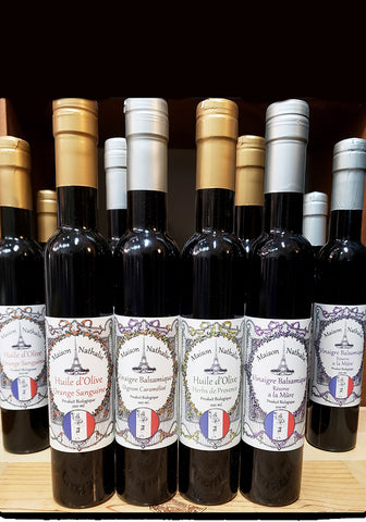 Maison Nathalie Organic Olive Oil and Balsamic Vinegar