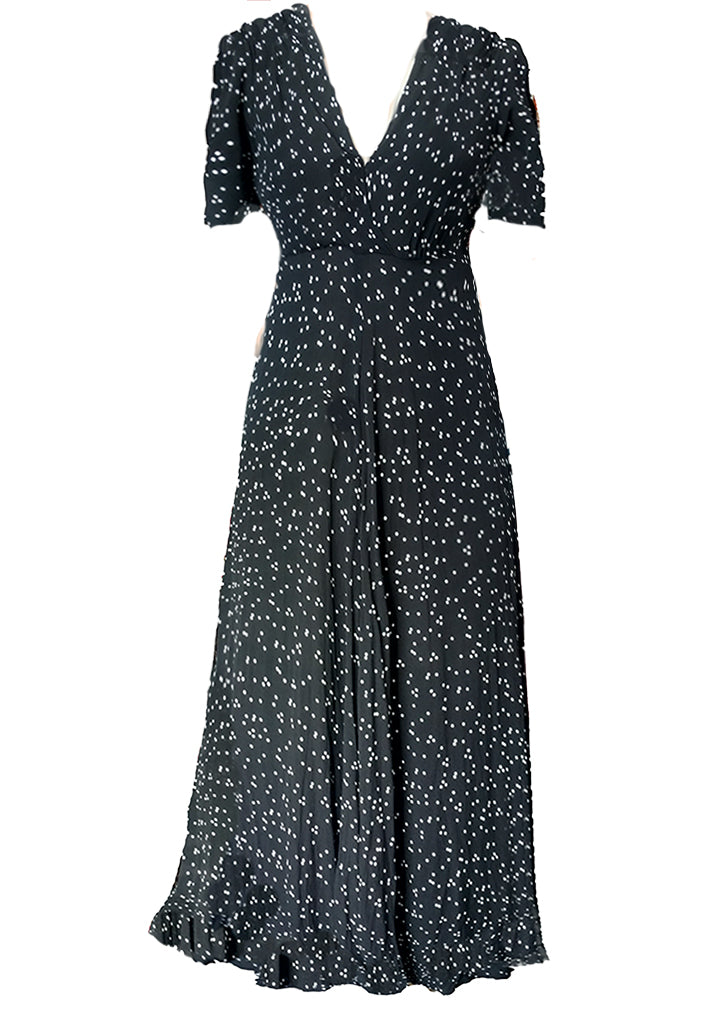 Stanwyck dress-Micro Confetti dot