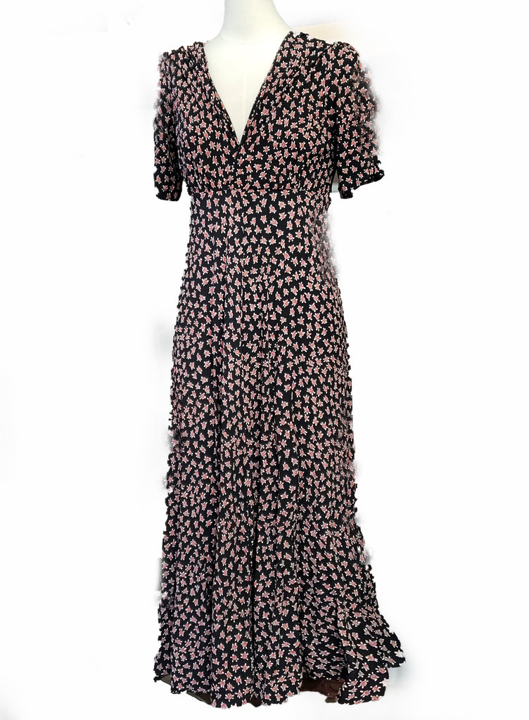 Stanwyck dress-Ditsy Dot