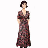 Stanwyck dress-Strawberry Fields