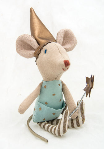 Dream & Tooth Fairy Mouse - Blue