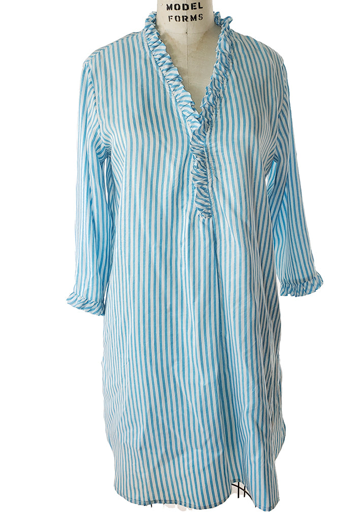 Antibes Tunic with mini ruffle